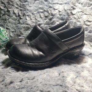 Born loafer slip on clogs Size 6